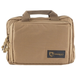 Drago Gear Double Pistol Case - Tan