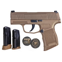 Sig Sauer P365 9mm, NRA Edition Coyote