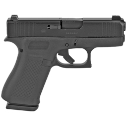 Glock 43X, 9mm with Night Sights