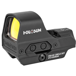 Holosun HS510C Red Reflex Multi-Reticle w/ Solar and Shake Awake