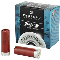 Federal 12 Gauge Game Load #6, 2.75""