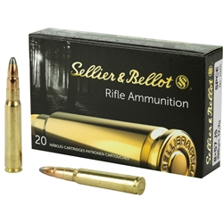 Sellier & Bellot 8x57 8mm Mauser JS 196gr SPCE